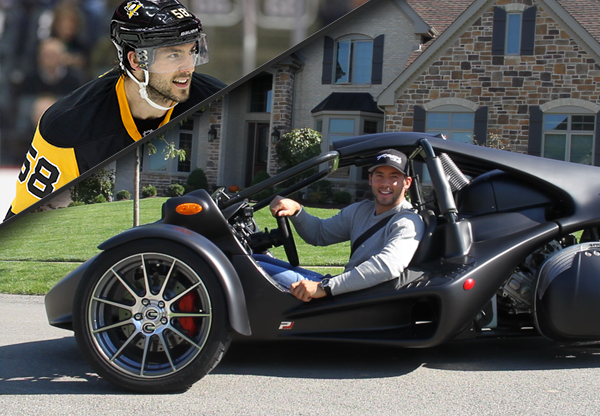 Sweepstakes: Ride A T-REX With Kris Letang