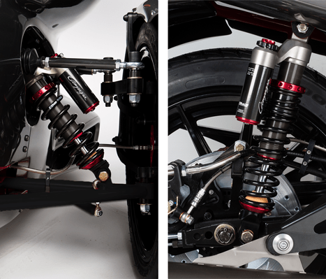 T-REX 16SP suspension characteristics